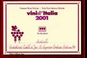 Balciana Sartarelli 1998 - Tre Bicchieri 2001
