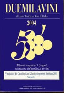 Balciana 2001 - 5 Grappoli 2004