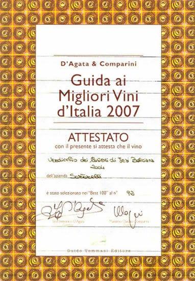 Balciana 2004 - Best 100 Vini d'Italia 2007