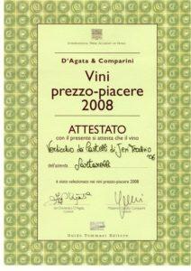 2008 Guida ai Vini Prezzo Piacere d'Italia - Tralivio 2006
