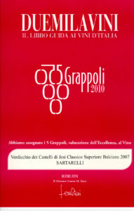 Balciana 2007 - 5 Grappoli 2010