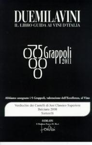Balciana 2008 - 5 Grappoli 2011