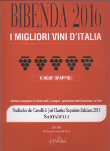Balciana 2013 - 5 Grappoli - Bibenda 2016