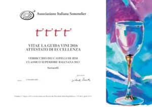 Balciana 2013 - 4 Viti - A.I.S. 2016