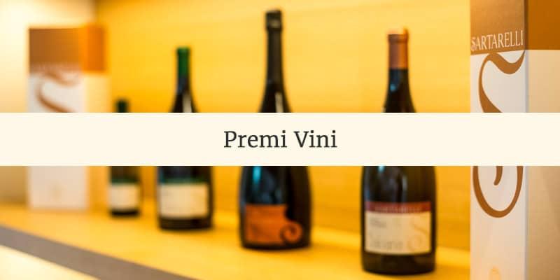 Scoprite i premi vinti dai vini Sartarelli