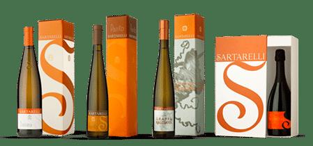 bottiglie regalo Sartarelli