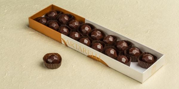 Cioccolatini ripieni alla Grappa Balciana
