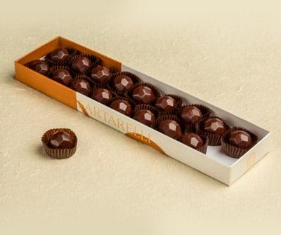 Cioccolatini Sartarelli ripieni alla Grappa Balciana