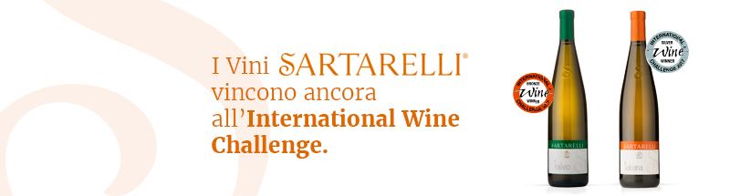 I vini Sartarellli vincono ancora all'International Wine Challenge