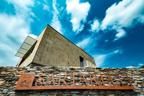 Prospettiva Esterno museo Sartarelli