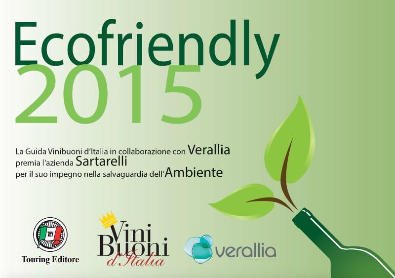 Ecofriendly ViniBuoni d'Italia 2015