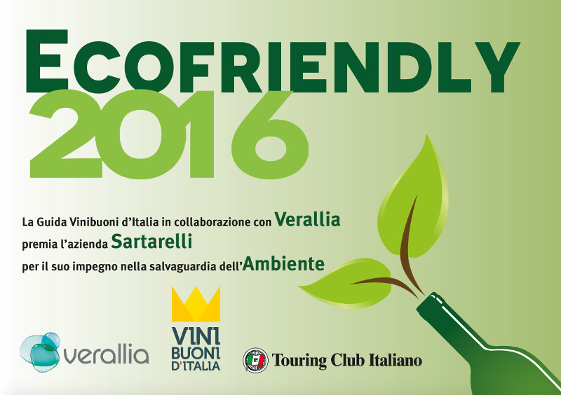 Ecofriendly ViniBuoni d'Italia 2016
