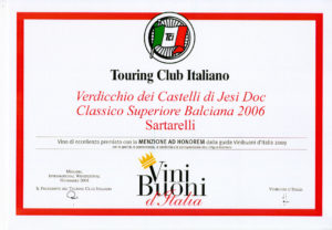 Balciana 2006 - Menzione ad Honorem 2009