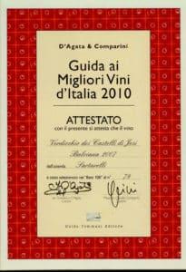 Balciana 2007 - Best 100 Vini d'Italia 2010