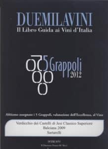 Balciana 2009 - 5 Grappoli 2012
