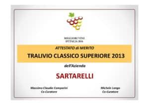 Tralivio 2013 - Migliori Vini d'Italia 2016 Comparini