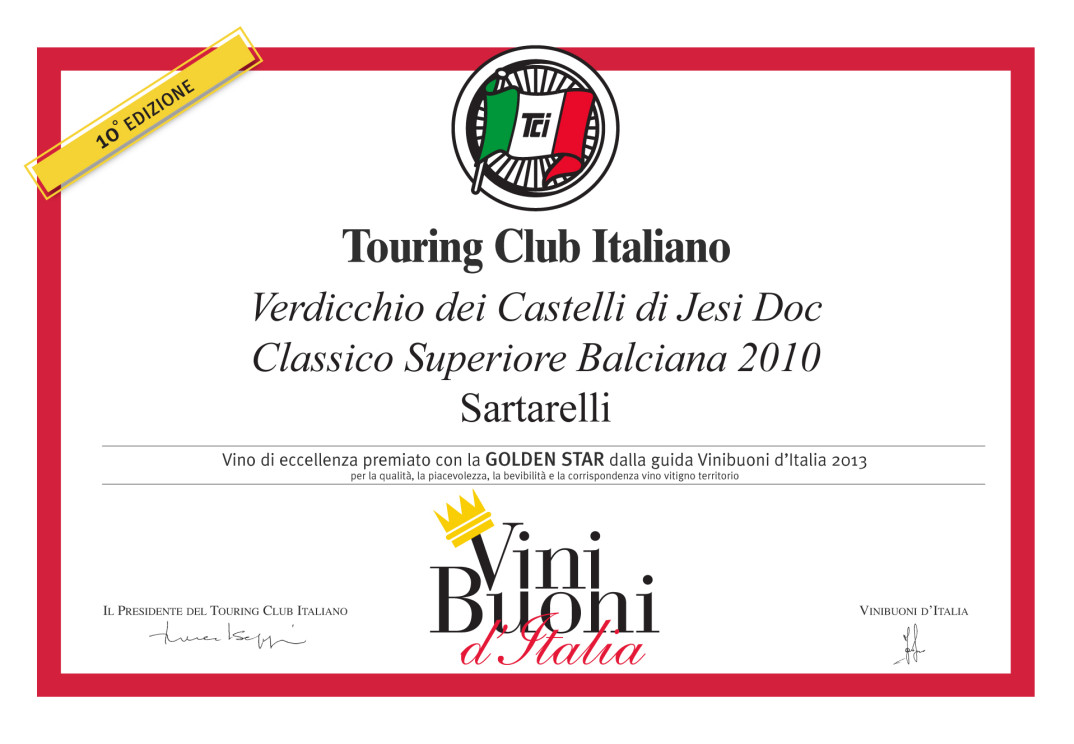 Balciana 2010 - Golden Star 2013