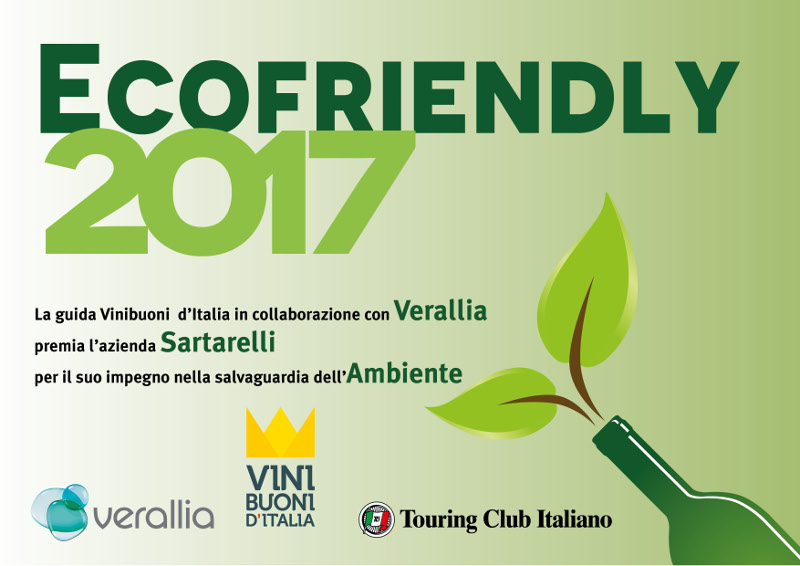 Ecofriendly ViniBuoni d'Italia 2017