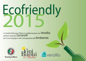 Ecofriendly ViniBuoni d'Italia 2015